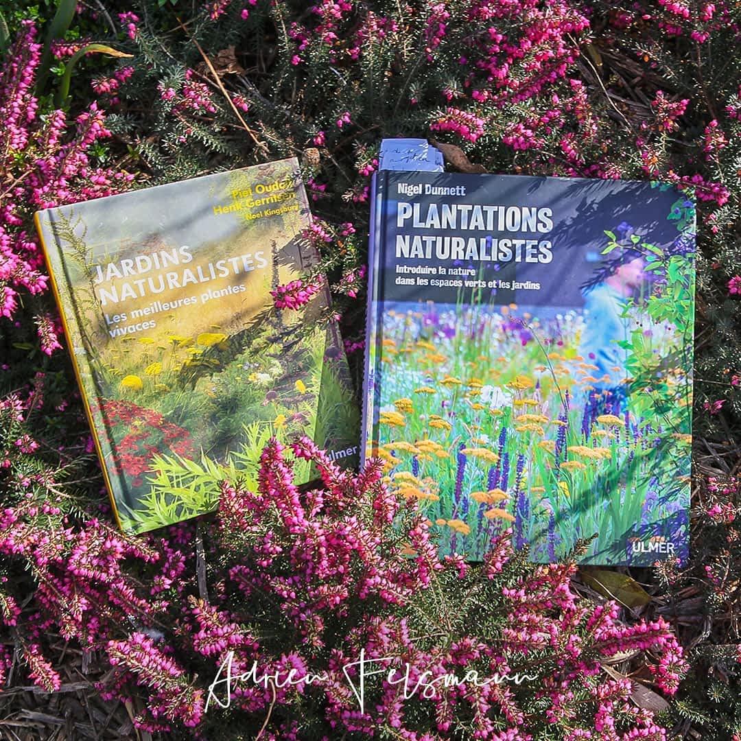 Deux livres sur le jardin naturaliste