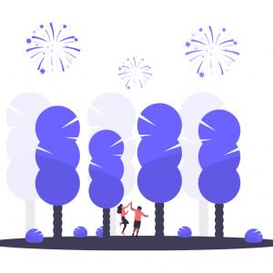 Carte cadeau arbres